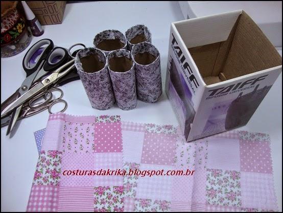 reciclagem caixa papelão