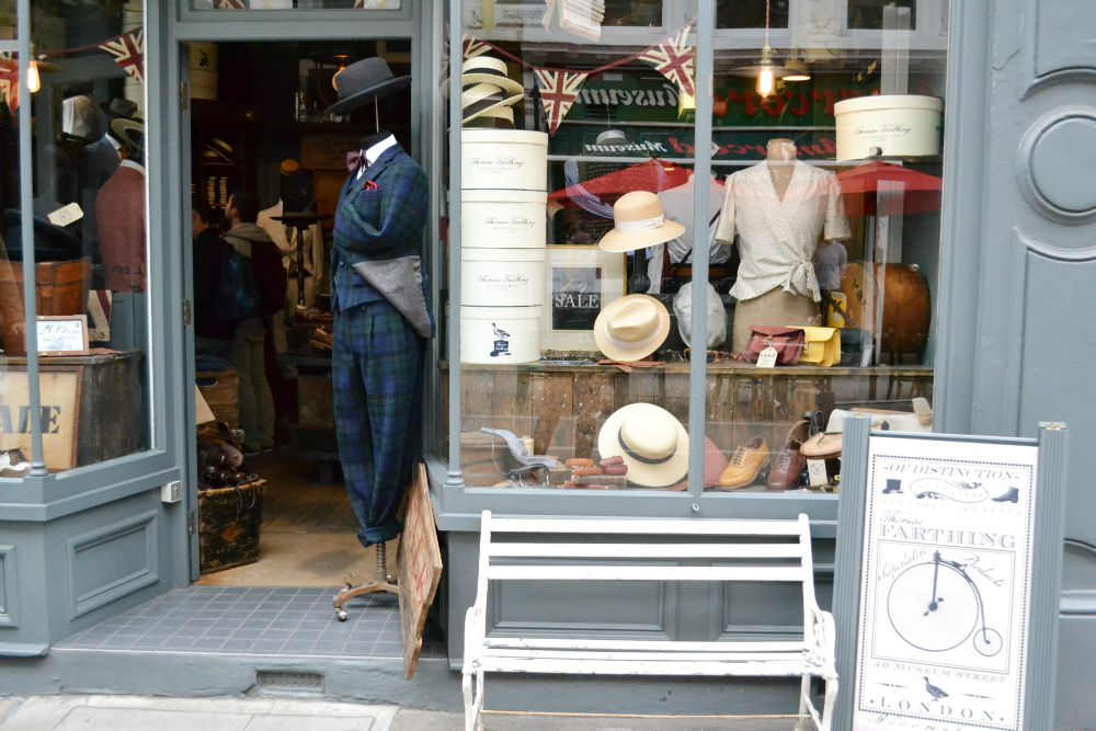 vintage style shop london