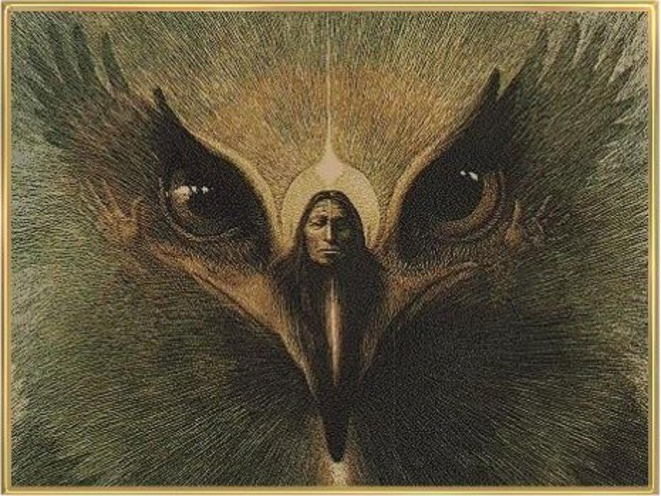 Los cuatro mundos del Chamán. Eagle1