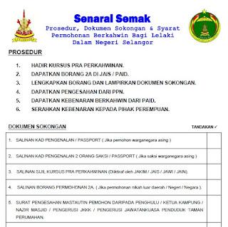 Borang Nikah Selangor Lelaki Umpama 4