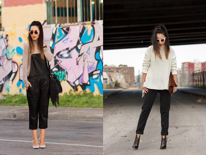 Resumen de los mejores looks del mes de diciembre de la blogger de moda de Valencia withorwithoutshoes