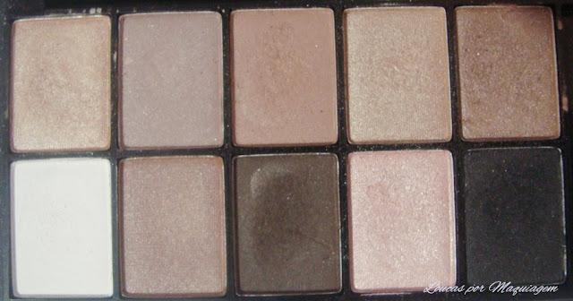 maquiagem nyx paleta de sombras