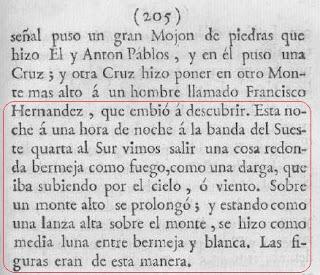 UFO Sarmiento de Gamboa text