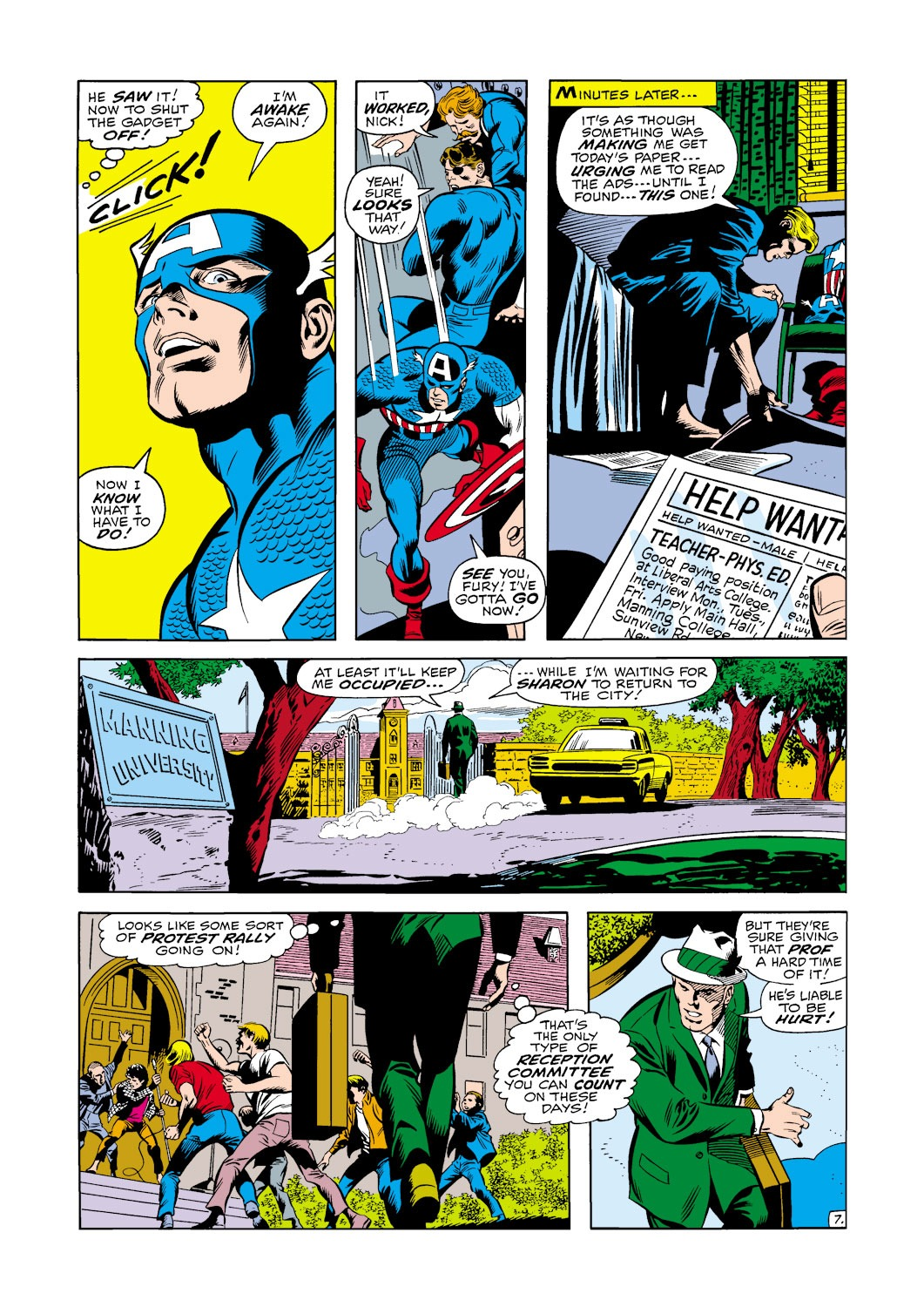 Captain America (1968) Issue #120 #34 - English 8