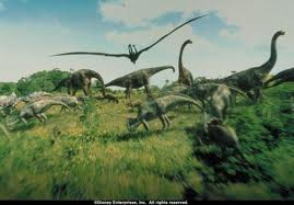 Dinosaurs in grass Dinosaur 2000 animatedfilmreviews.blogspot.com