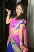 Young actress Jaya Harika in half saree-thumbnail-14