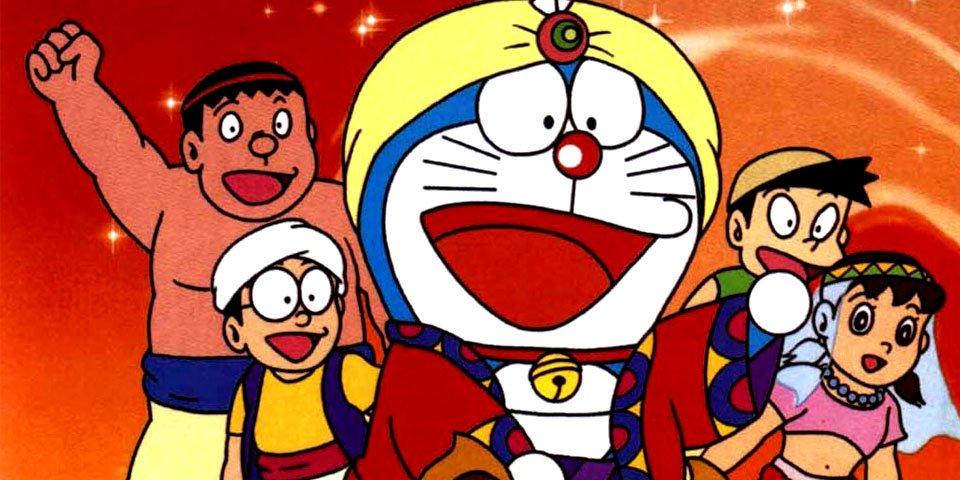 Kết quả hình ảnh cho Doraemon: Nobita ở xứ sở Ba Tư
