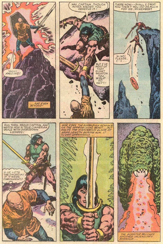 Conan the Barbarian (1970) Issue #144 #156 - English 21