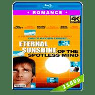 Eterno resplandor de una mente sin recuerdos (2004) 4K Audio Dual Latino-Ingles