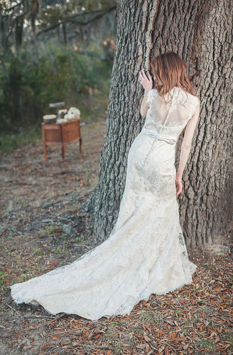 Savannah wedding planning and bridal boutique ivory and for Forest wedding dress vintage