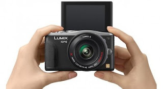 Lumix DMC-GF6, Kamera Mikro 16 MP Dengan NFC dan Display Flip