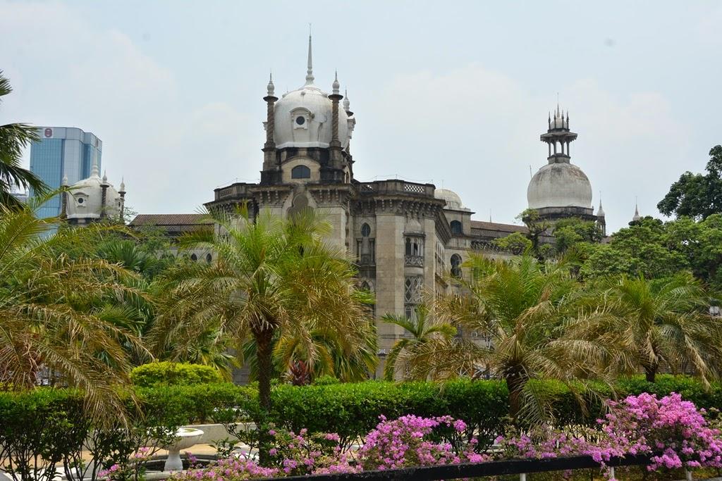 National Mosque Kuala Lumpur KTM building