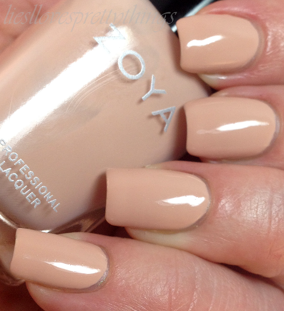 Zoya Chantal swatch and review