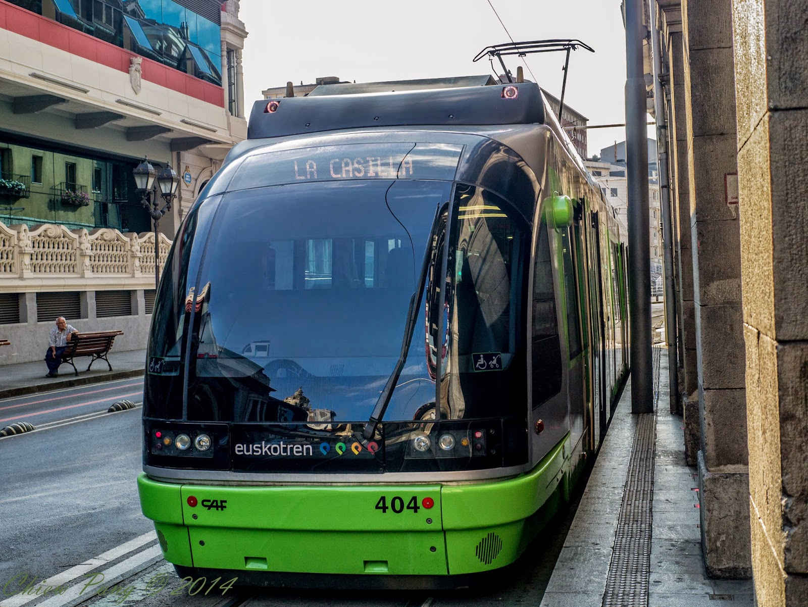 Tram in Bilbao