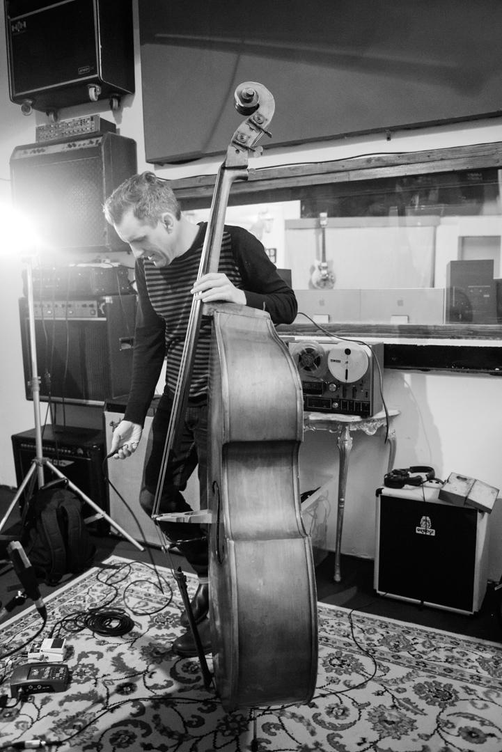 Birmingham recording studio Park Studios JQ | double bass recording