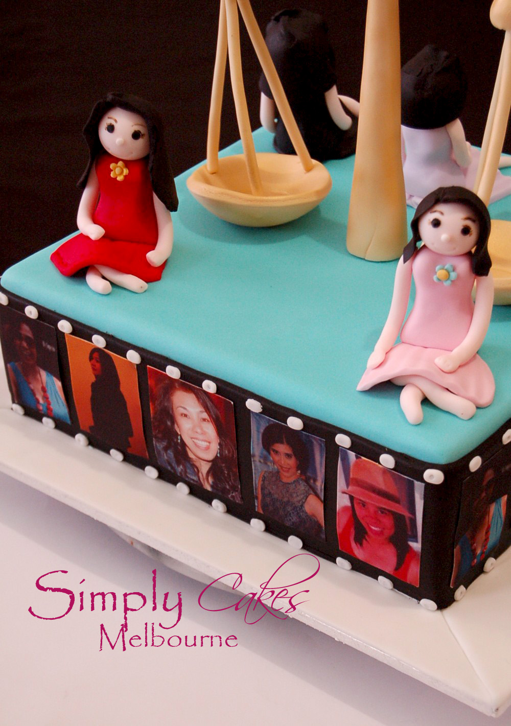 Simply Cakes Melbourne Libra Cake Themed For Libra Girls Birthday