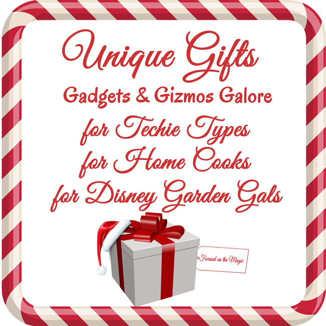 Holiday Gift Guide: Unique Gifts - Tech, Fitness, Cooking to Disney Garden Gals