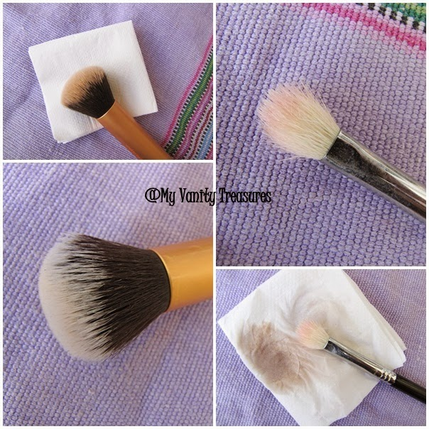 MAC Brush Cleanser Demo, How To Spot Clean Your Makeup Brushes