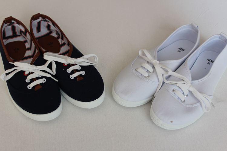 kurze Sneaker, Schuhe