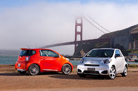 2012 Scion iQs in San Francisco - Subcompact Culture