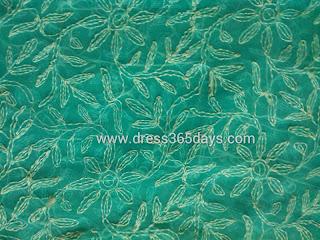 Tepchi Embroidery Chikankari Saree