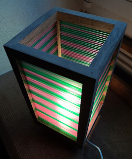 Straw lampshade