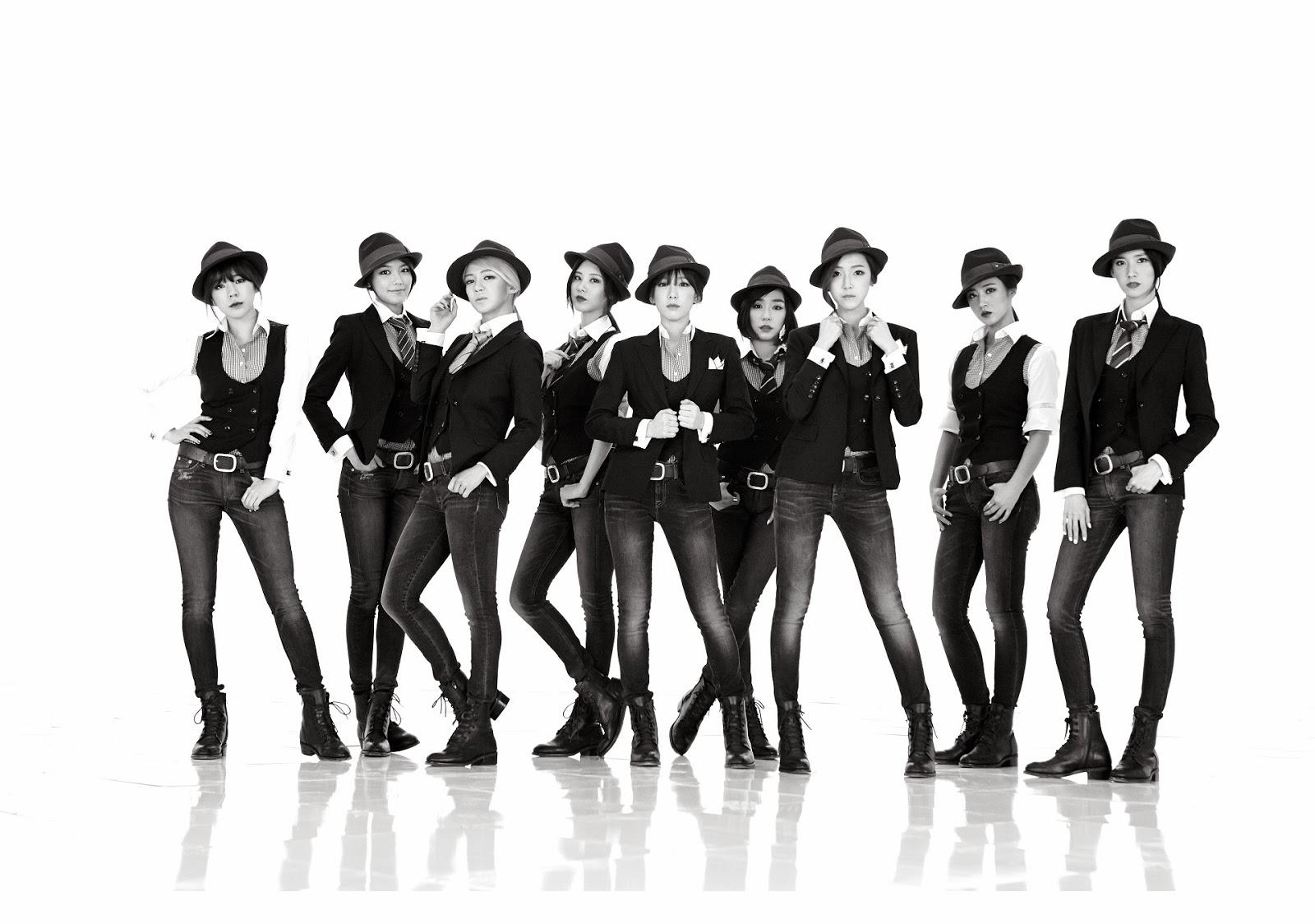 Yuri snsd black suit cum tribute