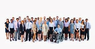 Photo of people in employment with disabilities