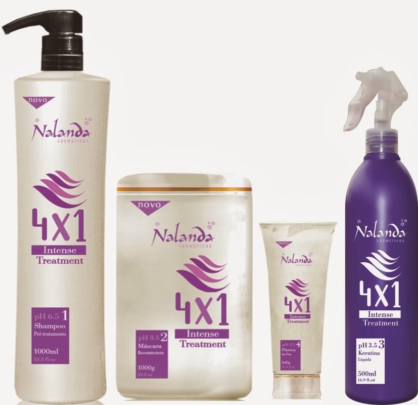 A solução em tratamento para os cabelos