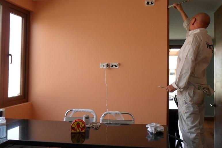 Pintor impecables terminaciones servicio de pintura en for Terminaciones de techos interiores