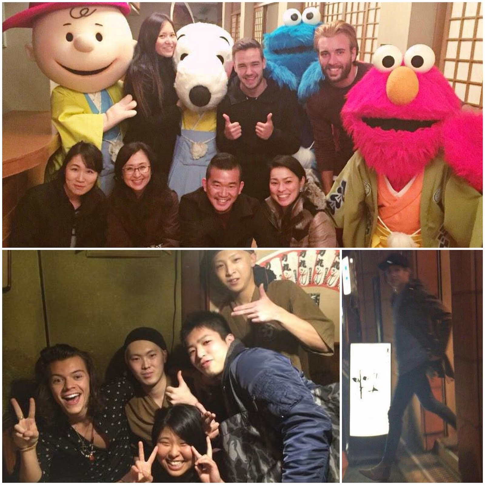 23.02.15, day off, fans, harry styles, japan, liam payne, niall horan, one direction, osaka,