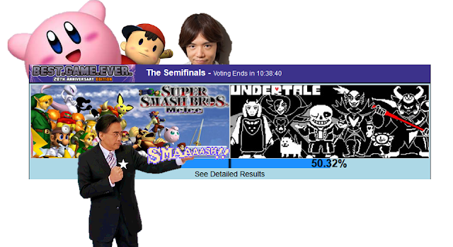 GameFAQs Best Game Ever Satoru Iwata Super Smash Bros. Melee Undertale