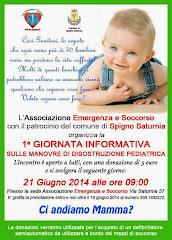 Giornata Informativa sulle manovre di disostruzione pediatrica.