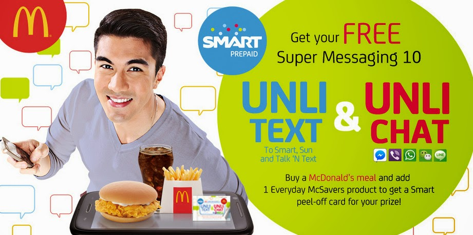 Smart McDo, Smart Super Messaging 10