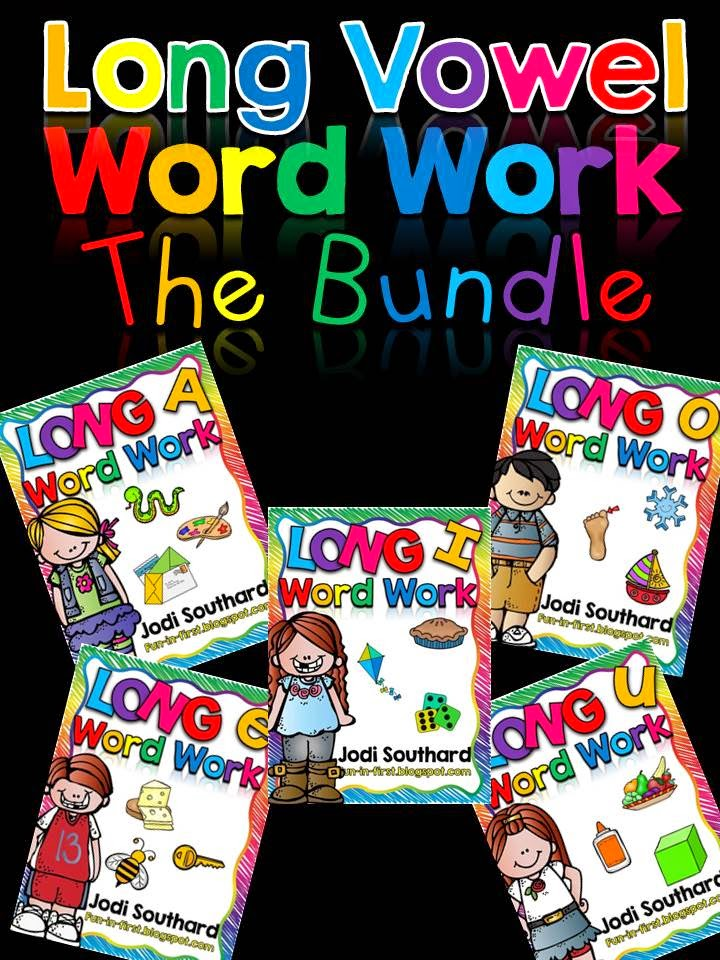 http://www.teacherspayteachers.com/Product/Word-Work-with-Long-Vowel-Bundle-1493277