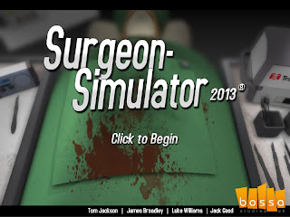 Ameliyat Oyunu - Surgeon Simulator 2013