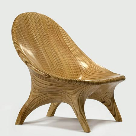 Peartreedesigns beautiful unusual wooden chairs designs for Wooden armchair designs
