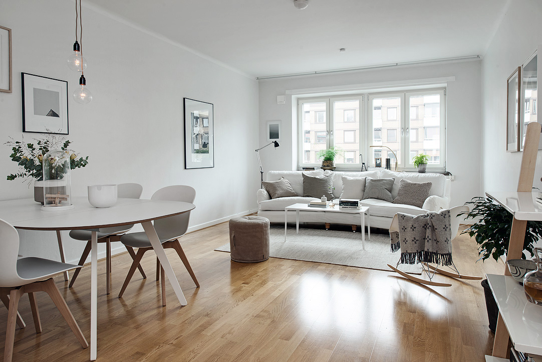 os gustan los muebles de estilo nrdico para amueblar pisos pequeos