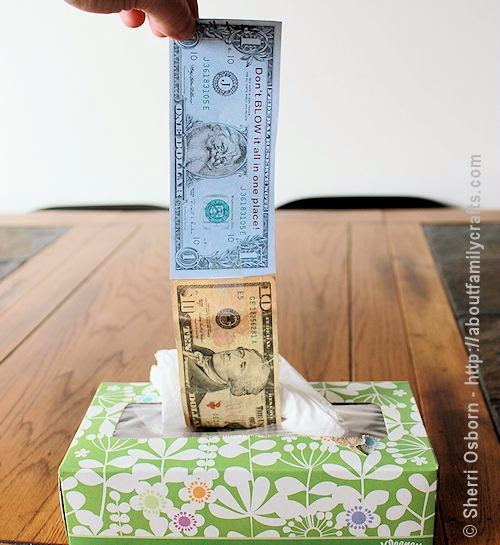 Don't BLOW it all in one place! Tons of creative ways to give money!