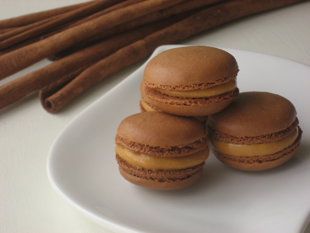 Delicious: Lucuma Macarons with dulce de leche buttercream
