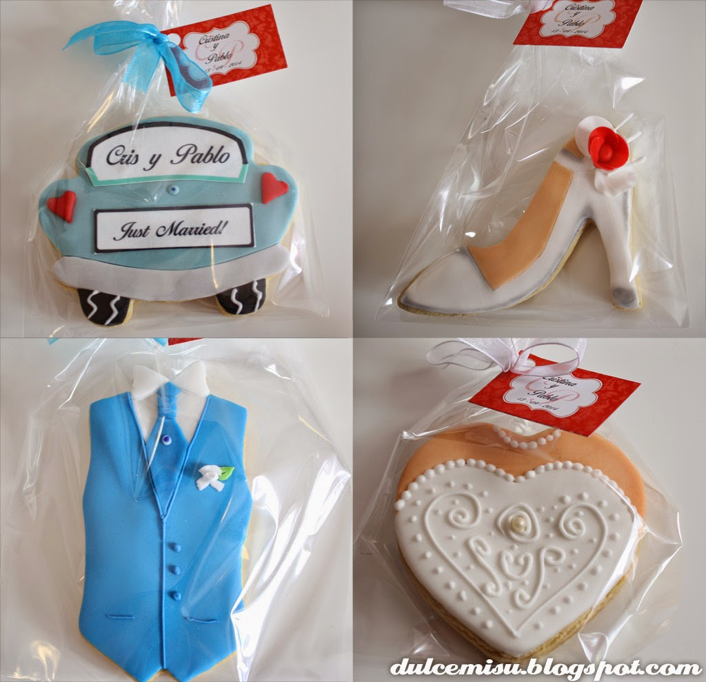 galletas de boda, glaseado real, glasa, fondant, decoración, galleta de coche, galleta vestido novia, chaleco, zapato, dulcemisu, orquidea, papel comestible, personalizado