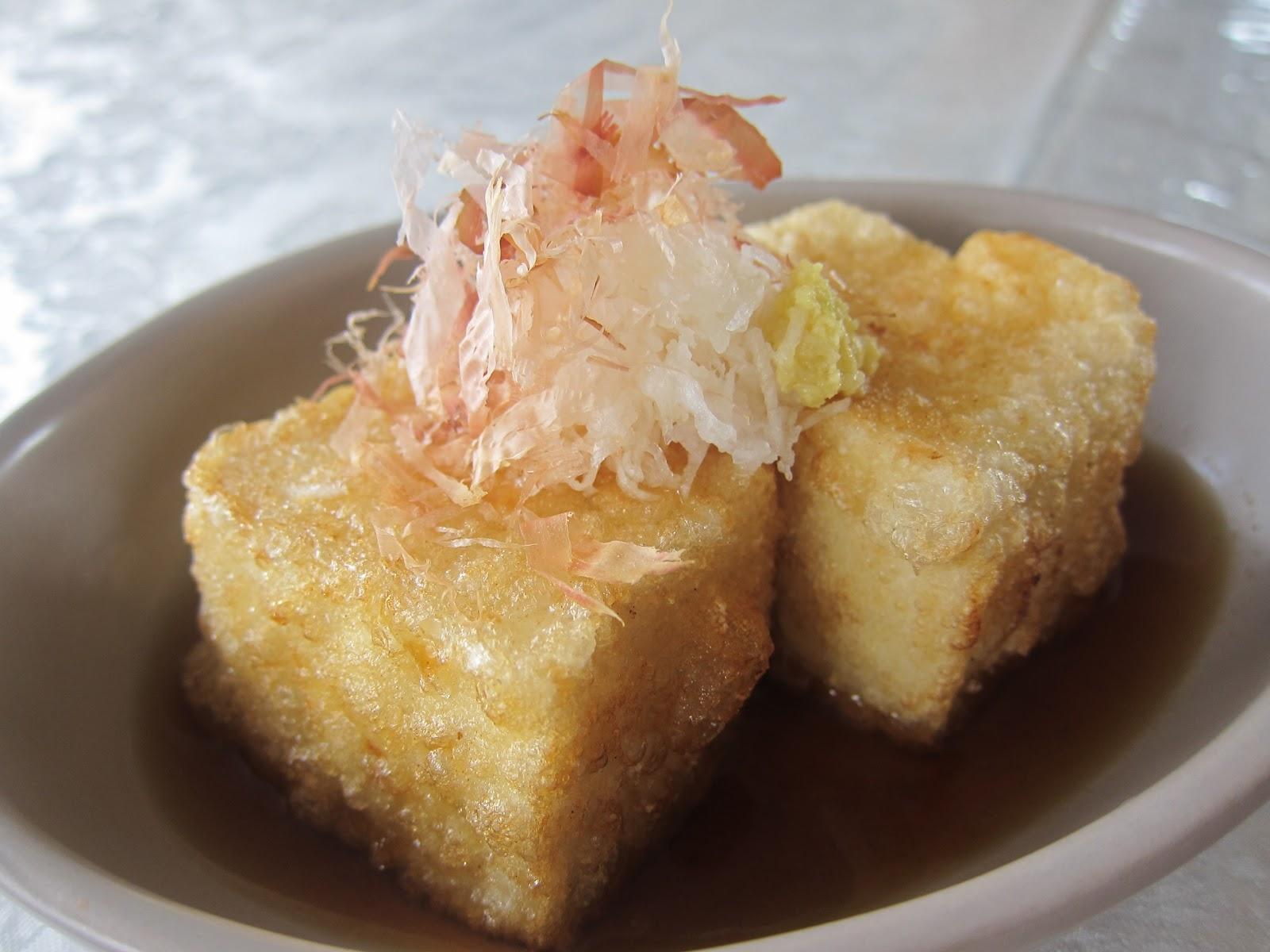 Saucy Thyme: Agedashi Tofu