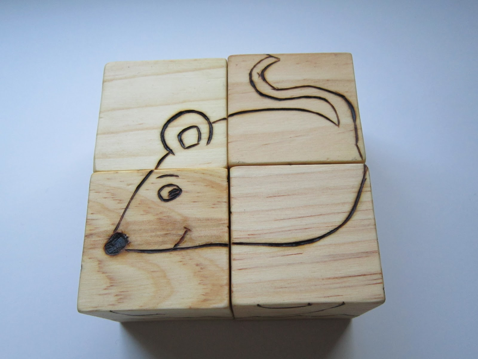 how to make wooden animals