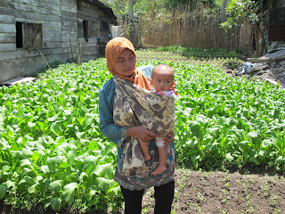 Save The Children and GMCR Food Security project participant 