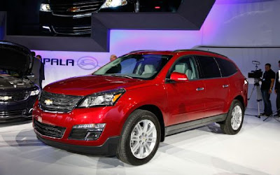 2013 Chevy Traverse Release Date, Redesign and Price