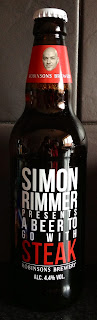 Simon Rimmer Proudly Presents a Beer to go with Steak (Robinsons)