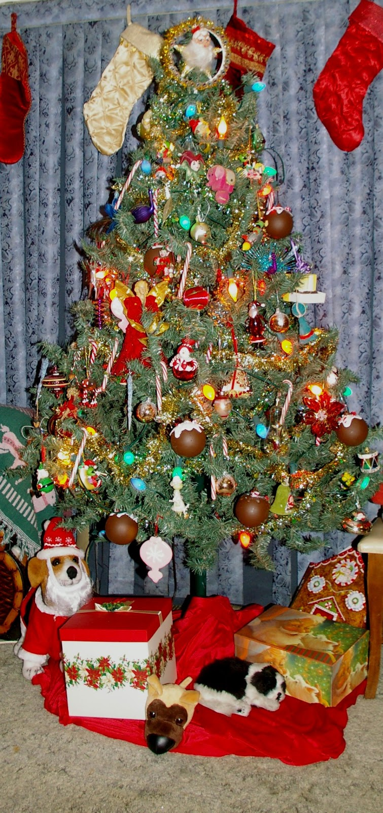 And Here Are Some Of My Decorations The Tree