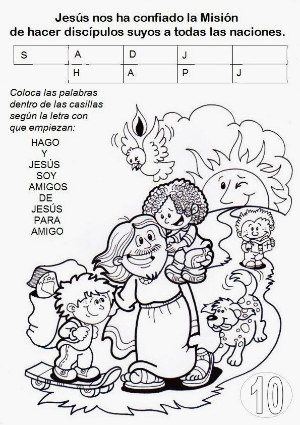 Atractivo Jesús Para Colorear Imprimible Galería - Ideas Para ...
