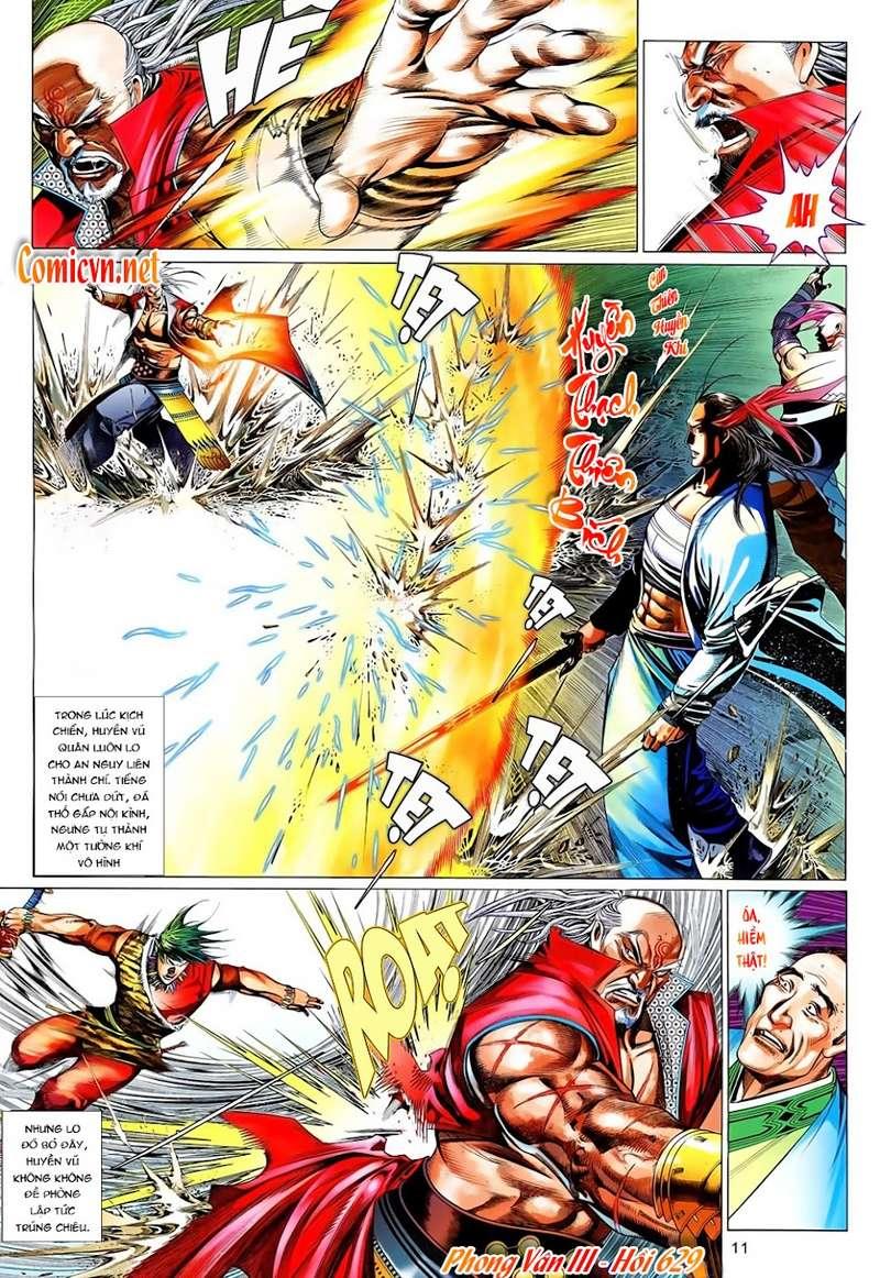 Phong Vân chap 629 Trang 11 - Mangak.info