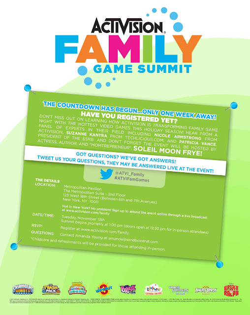 holiday video games, live online event, Activision